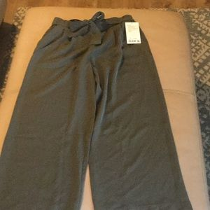 NWT lululemon olive green trousers